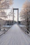 El puente largo Foto de archivo