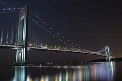 El puente más largo del New York City Imagen de archivo libre de regalías