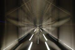 El puente móvil Imagen de archivo libre de regalías