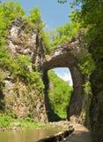 El puente natural. Foto de archivo