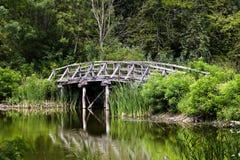 El puente viejo. Imagenes de archivo