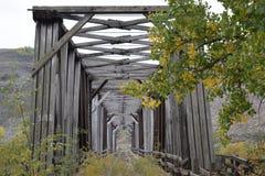 El puente viejo Foto de archivo