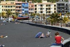 El Puerto,拉帕尔玛岛 免版税库存照片