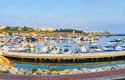El puerto Foto de archivo libre de regalías