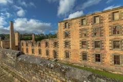 El puerto Arthur Tasmania de la cárcel Foto de archivo libre de regalías