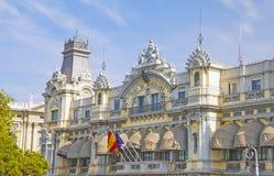 El puerto de Barcelona Imágenes de archivo libres de regalías