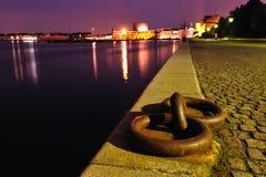 El puerto de Copenhague Dinamarca Foto de archivo libre de regalías