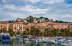 El puerto de La Spezia fotografía de archivo libre de regalías