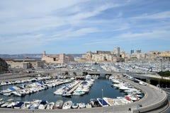 El puerto de Marsella en el sur de Francia imagen de archivo libre de regalías