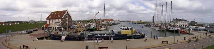 El puerto de Oudeschild, Países Bajos 05 07 2007 fotografía de archivo libre de regalías