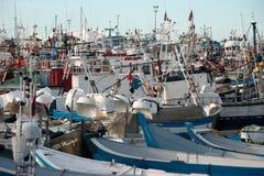 el puerto de Tánger Fotos de archivo libres de regalías