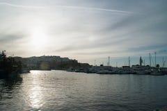 el puerto de Tánger Imágenes de archivo libres de regalías