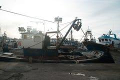 el puerto de Tánger Foto de archivo