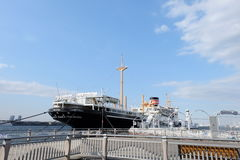 El puerto de Yokohama, Japón Imagenes de archivo