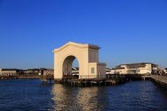 El puerto del pescador de San Francisco Foto de archivo