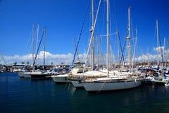 El puerto deportivo del yate fotografía de archivo libre de regalías