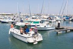El puerto deportivo, Vila Real de Santo Antonio, Portugal Fotografía de archivo libre de regalías