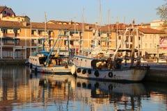 El puerto viejo de Grado, Italia Fotografía de archivo libre de regalías