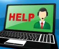 El puesto de informaciones significa la representación del World Wide Web 3d libre illustration
