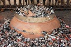 El pulpo hizo manera croata tradicional Fotos de archivo libres de regalías