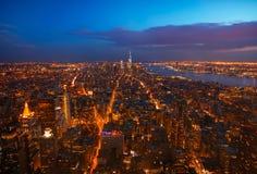 El pulso de Manhattan Fotos de archivo libres de regalías