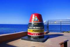 El punto más situado más al sur de los E.E.U.U. Fotos de archivo