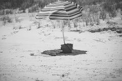El punto perfecto de la playa Imagenes de archivo
