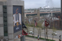 El Q - Cleveland, OH Fotografía de archivo