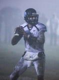 El Quarterbacking en la niebla Foto de archivo