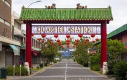 El Quartier cuarto asiático Asiatique Imágenes de archivo libres de regalías
