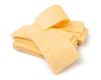 Rebanadas del queso Imagenes de archivo