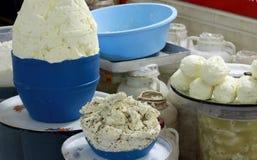 El queso herbario de Van, Turquía. Fotos de archivo