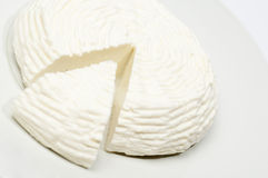 El queso hizo la leche de vaca del ââwith,   Fotos de archivo