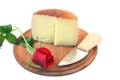 El queso y se levantó Imágenes de archivo libres de regalías