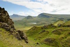 El Quirain, isla de Skye Fotografía de archivo