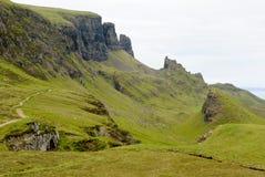 El Quirain, isla de Skye Imágenes de archivo libres de regalías