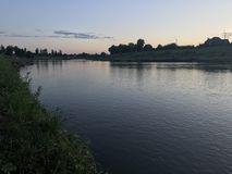 El río Fotos de archivo