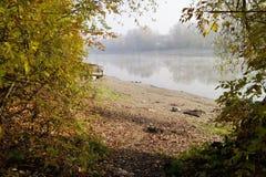 El río Foto de archivo