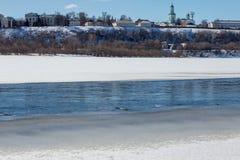El río Fotografía de archivo