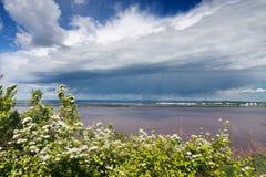 El río Amur Fotos de archivo libres de regalías