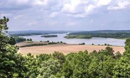 El río Arkansas imagen de archivo libre de regalías