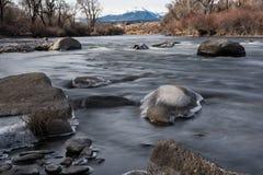 El río Arkansas Colorado Imagen de archivo libre de regalías