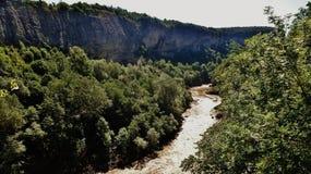 El río Blanco Imagen de archivo