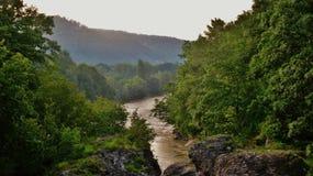 El río Blanco Fotografía de archivo
