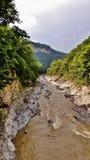 El río Blanco Imágenes de archivo libres de regalías
