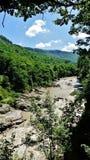 El río Blanco Foto de archivo libre de regalías