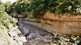 El río Blanco Imagenes de archivo