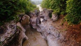 El río Blanco Fotos de archivo