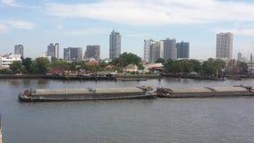 El río Chao Phraya Fotografía de archivo libre de regalías