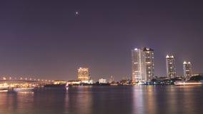 El río Chao Phraya Foto de archivo libre de regalías